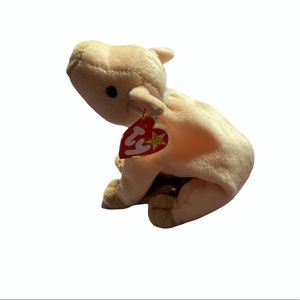 TY Beanie Baby Knuckles the Pig
